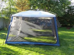 A kitchen or dining tent is a good investment. Large enough to fit over a picnic table it allows a dry area for playing games entertaining the kids ... & Wet Weather Tips for Around Camp   The Outdoor Experience